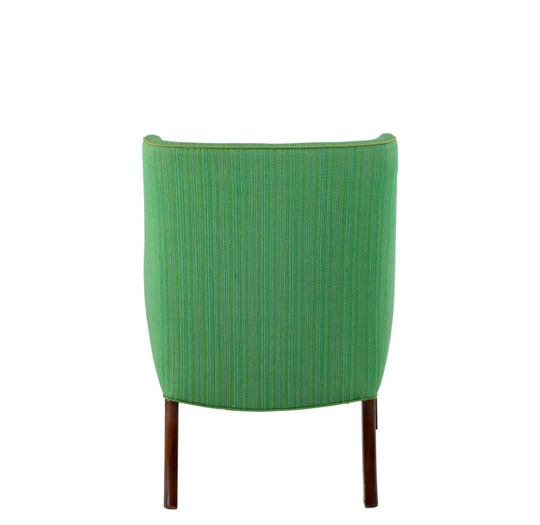 Mid-20th Century Frits Henningsen Lounge Chair For Sale