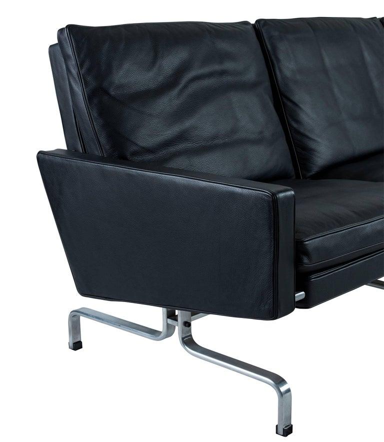 Poul Kjaerholm PK31 Three-Seat Sofa by Fritz Hansen For Sale 1