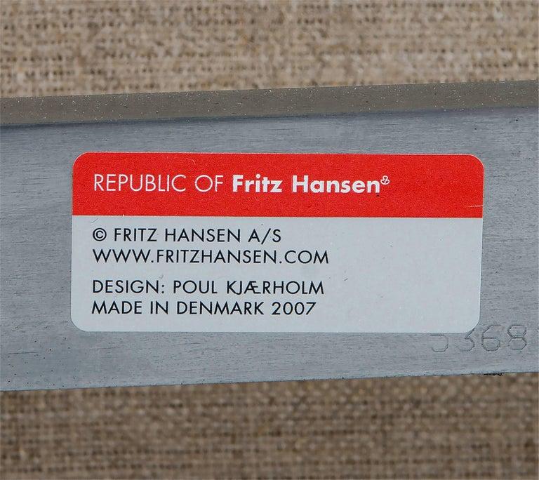 Poul Kjaerholm PK31 Three-Seat Sofa by Fritz Hansen For Sale 3