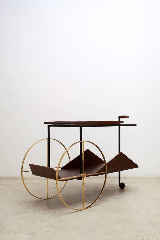 'JZ' Trolley by Jorge Zalszupin 3