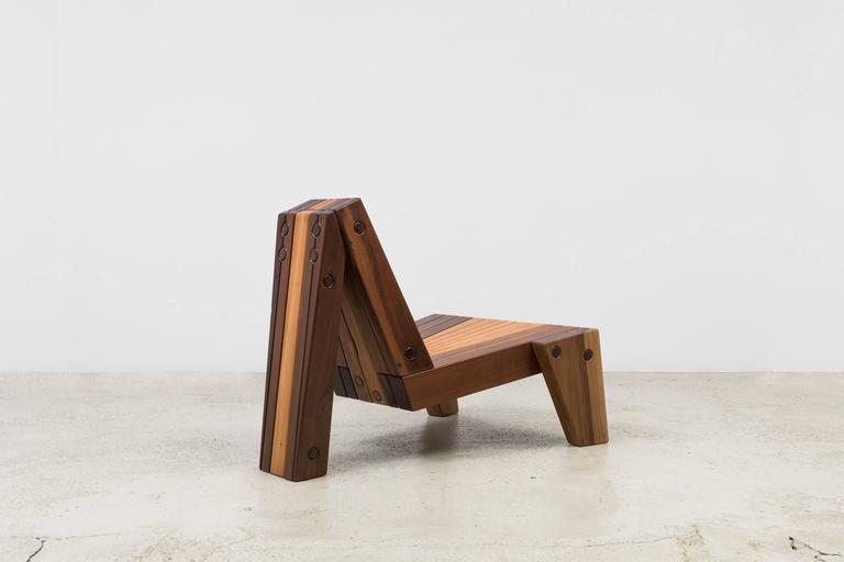 Brazilian Enrico Chair by Zanini De Zanine For Sale