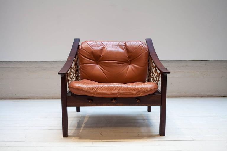 Vintage Amazonas Armchair by Jean Gillon In Good Condition For Sale In New York, NY
