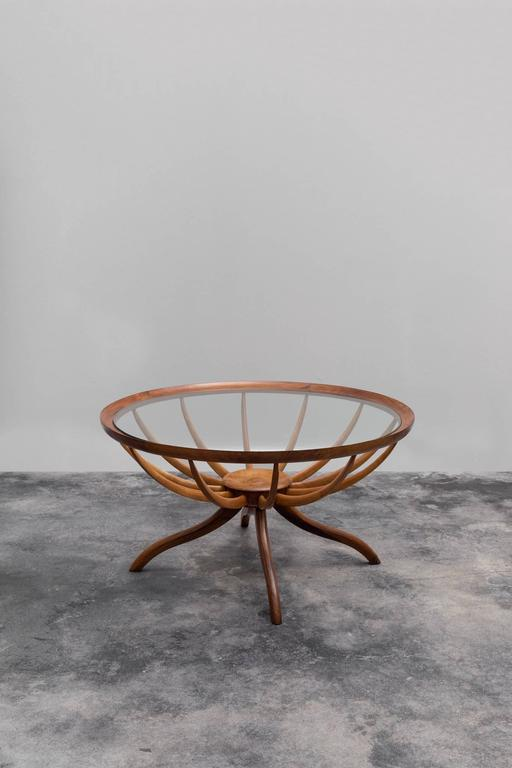 Vintage Aranha Coffee Table by Giuseppe Scapinelli 2