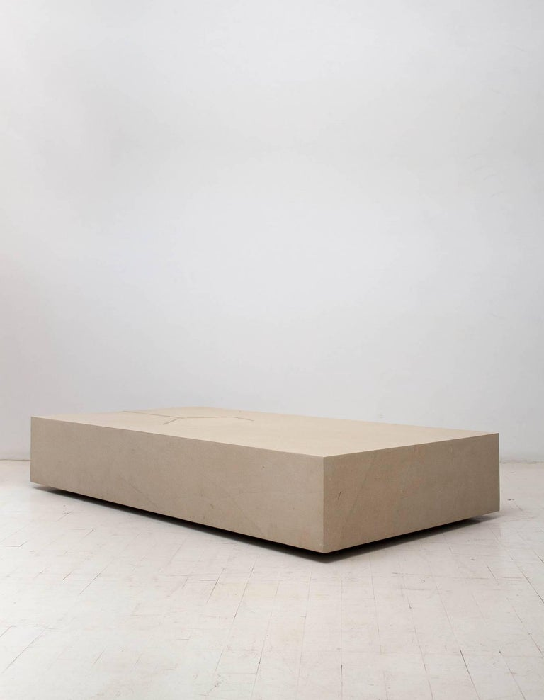 Clareira coffee table by Brazilian designer Claudia Moreira Salles