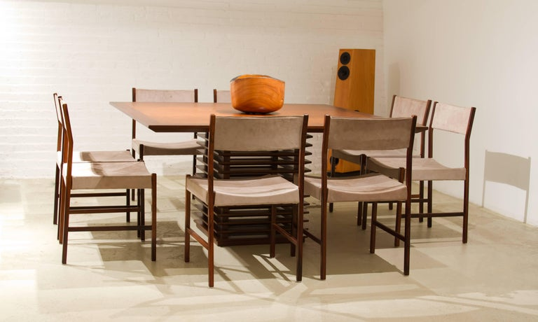 Contemporary Fresta Dining Table by Claudia Moreira Salles For Sale