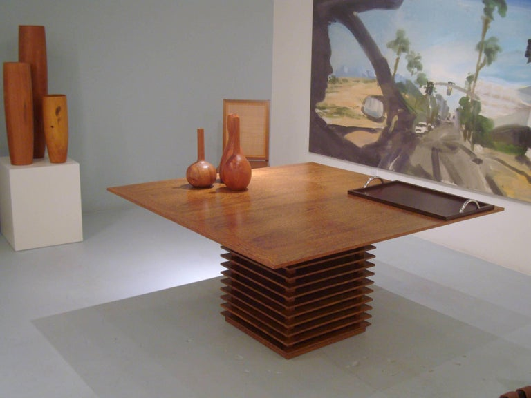 Fresta Dining Table by Claudia Moreira Salles In Good Condition For Sale In New York, NY