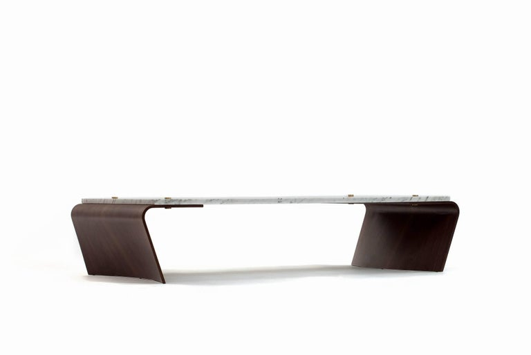 Brazilian Romana Coffee Table by Jorge Zalszupin For Sale