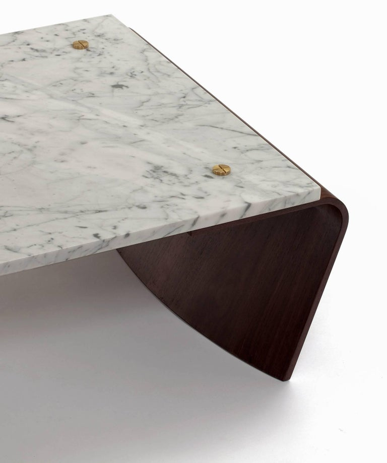 Marble Romana Coffee Table by Jorge Zalszupin For Sale