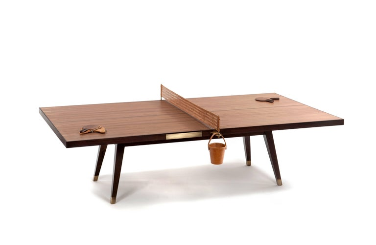 Contemporary Ping Pong Game Table by Dado Castello Branco For Sale