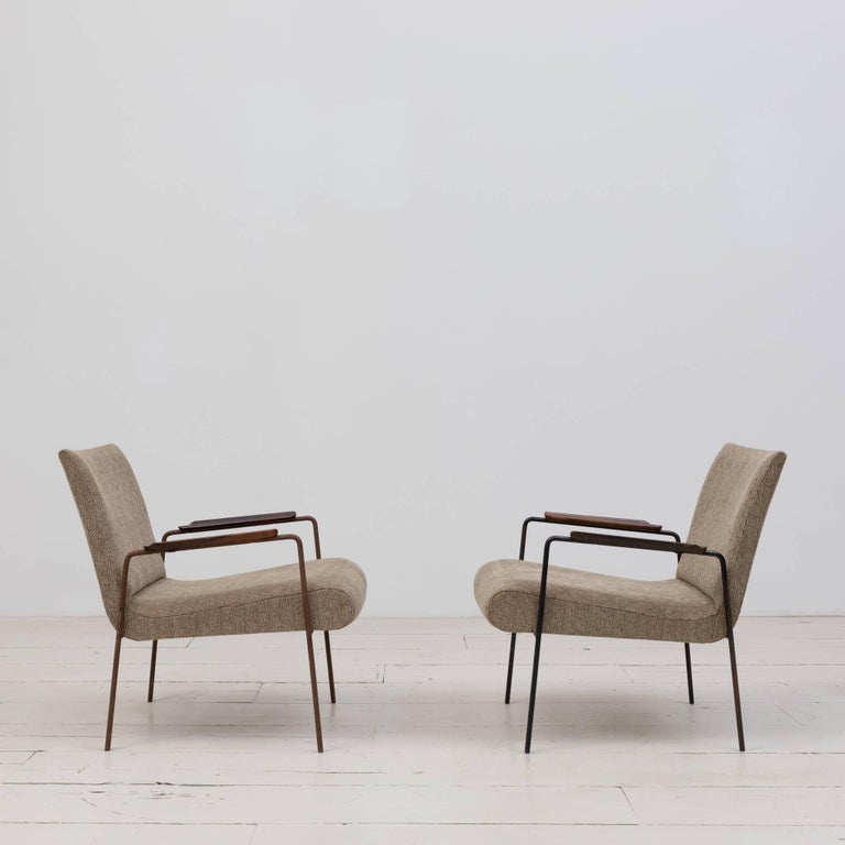 Mid-Century Modern Leve Armchair Designed by Joaquim Tenreiro For Sale