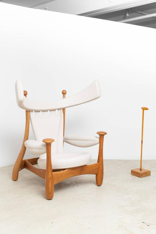 Limited Edition Chifruda Armchair by Sergio Rodrigues In Excellent Condition For Sale In New York, NY
