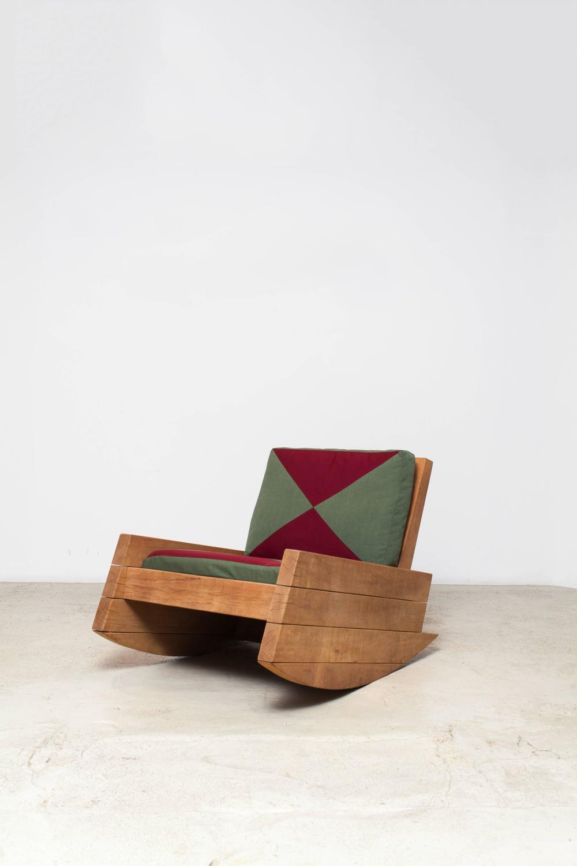 Asturias rocking chair by carlos motta for sale at 1stdibs for Carlos motta designer