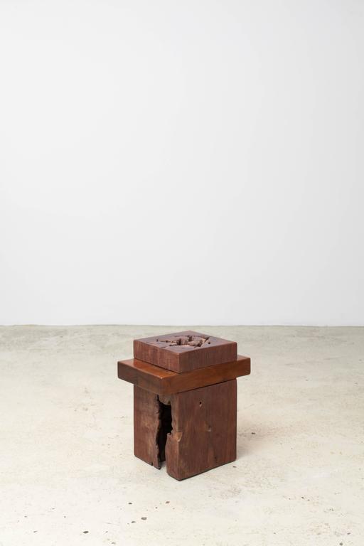Brazilian Zanini De Zanine, Pair of 'Joá' Stools, 2012 For Sale