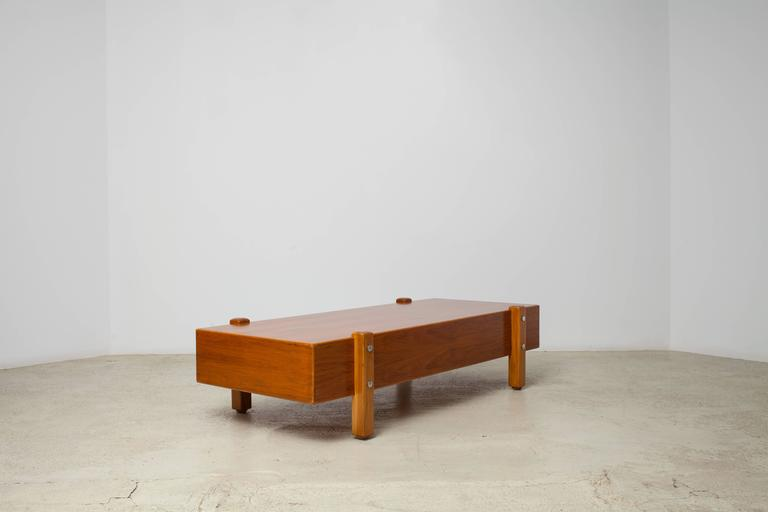 Brazilian Vintage Sergio Rodrigues, Eleh Bench / Coffee Table, 1965 For Sale