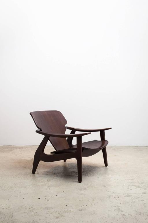 Brazilian Diz Armchair by Sergio Rodrigues For Sale