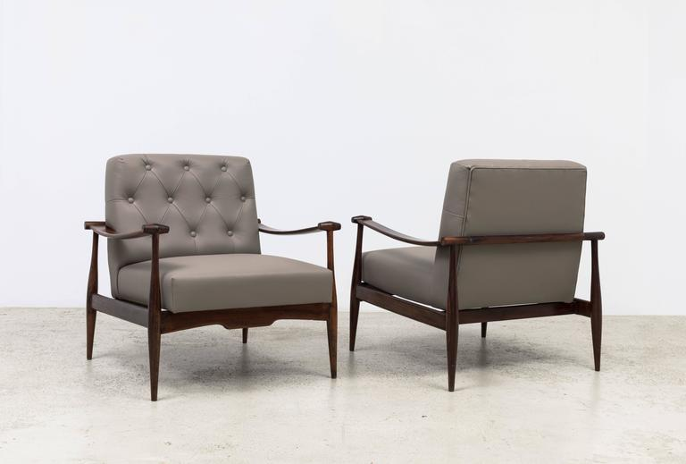 Mid-Century Modern 'Liceu de Artes e Ofícios' Vintage Armchairs For Sale