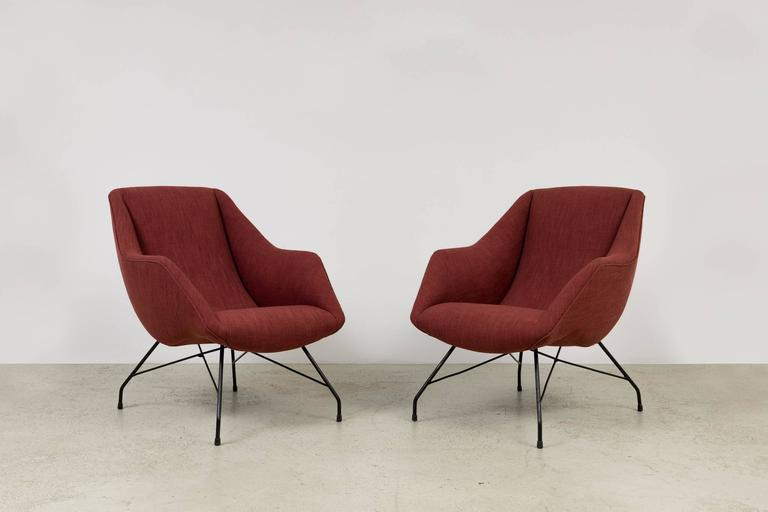 Vintage 1950s Armchairs by Martin Eisler 3