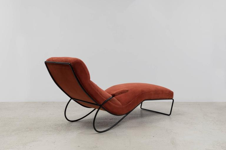 Vintage 1950s chaise longue for sale at 1stdibs for 1 zitsbank met chaise longue