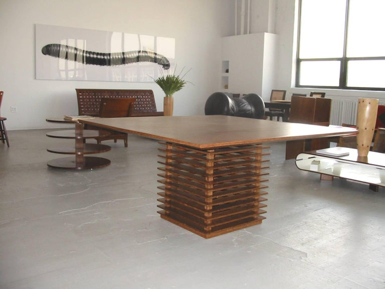 Brazilian Fresta Dining Table by Claudia Moreira Salles For Sale