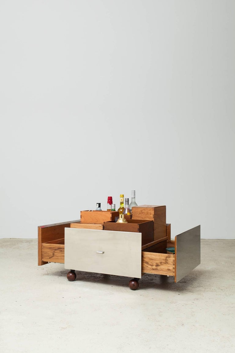 Toto Bar Trolley by Isay Weinfeld 4