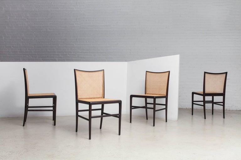 Brazilian Palhinha Dining Chair by Branco & Preto For Sale
