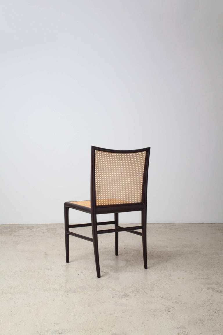Mid-Century Modern Palhinha Dining Chair by Branco & Preto For Sale
