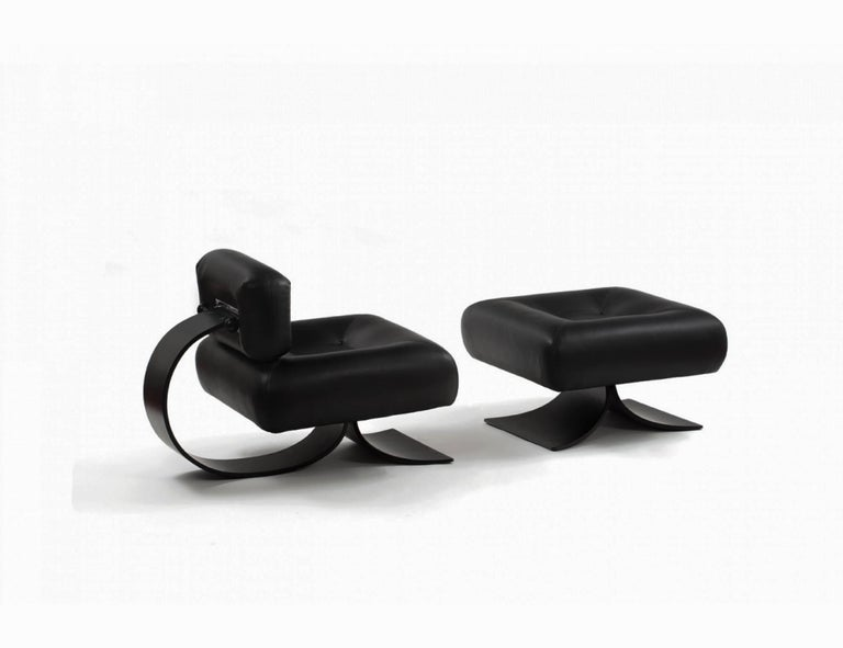 Alta Chair and Ottoman by Oscar Niemeyer 5