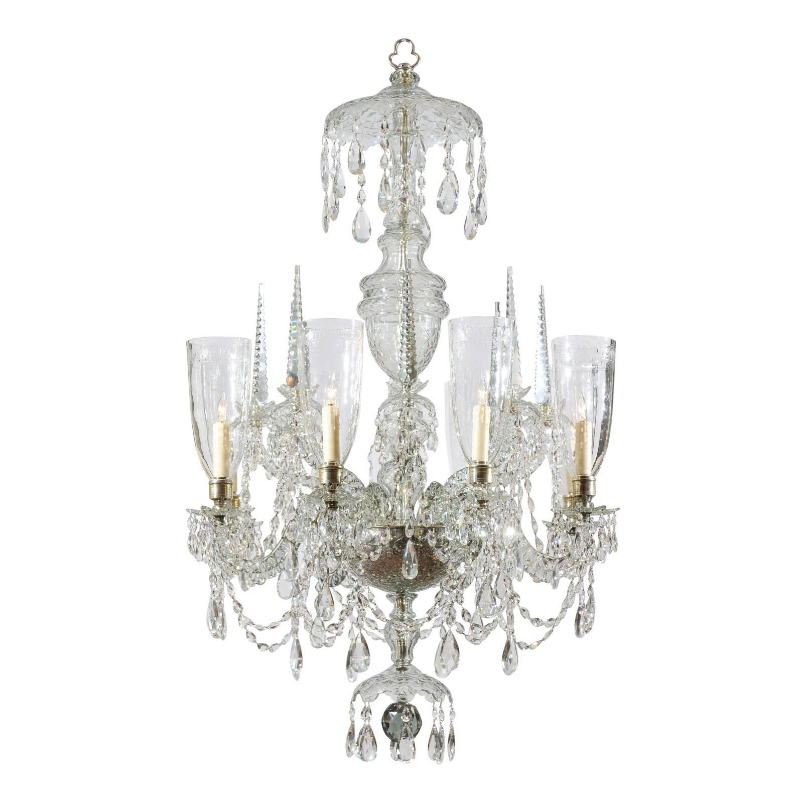 Waterford Crystal Chandeliers and Pendants 9 For Sale at 1stdibs