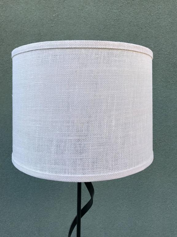 Modernist Spiral Floor Lamp, 1950s 2