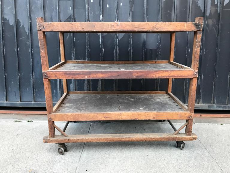 1920s-1930s Shoe Rack or Cart 5