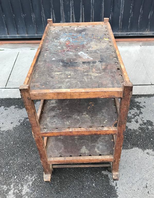 1920s-1930s Shoe Rack or Cart 6