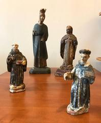 18th Century Carved Santos Figures