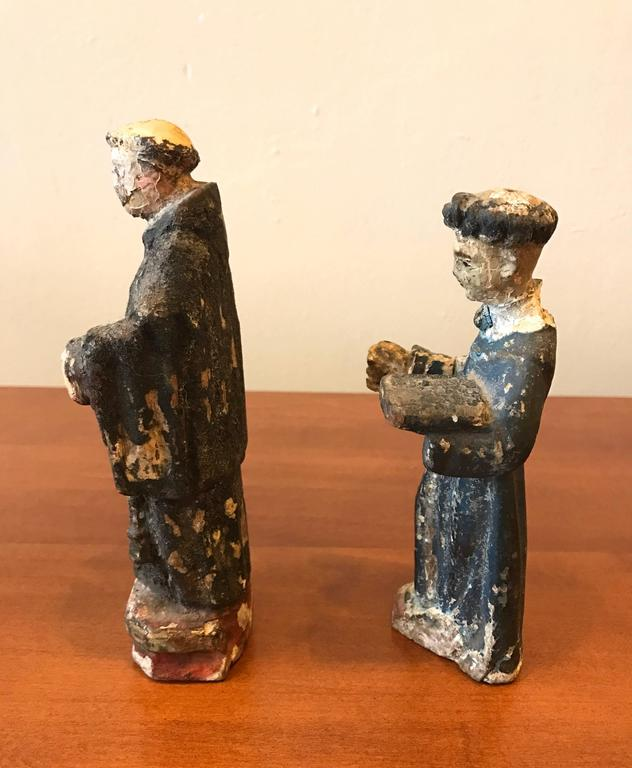 18th Century Carved Santos Figures 2
