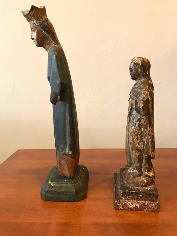 18th Century Carved Santos Figures 3