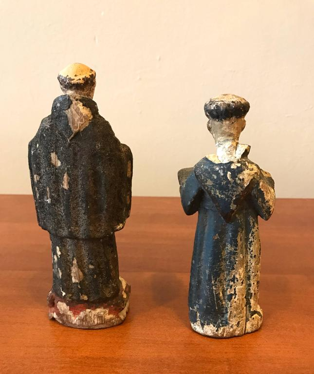 18th Century Carved Santos Figures 4