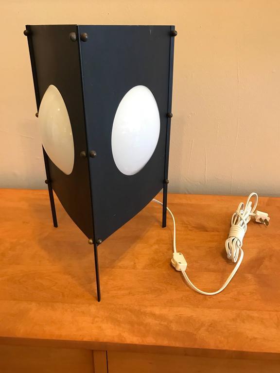 1950s Modernist Box Kite Table Lamp 3