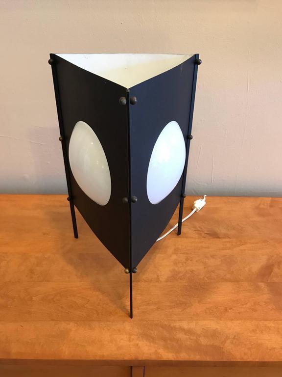 1950s Modernist Box Kite Table Lamp 2