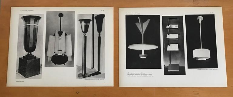 1937 Luminaire Moderne French Lighting Catalogue / Art Deco 3