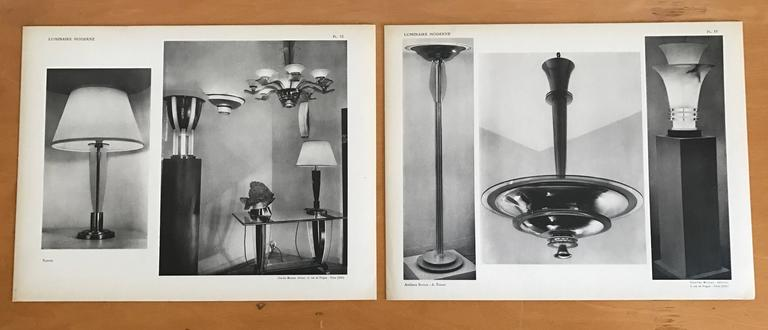 1937 Luminaire Moderne French Lighting Catalogue / Art Deco 4