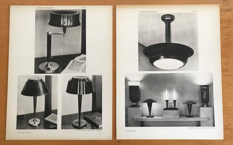 1937 Luminaire Moderne French Lighting Catalogue / Art Deco 5