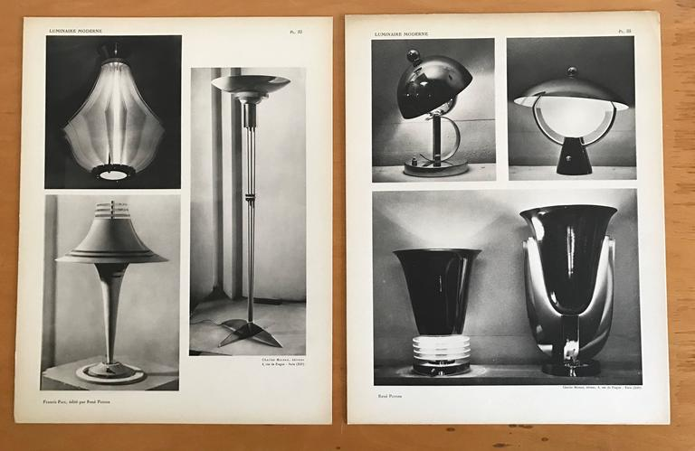 1937 luminaire moderne french lighting catalogue art. Black Bedroom Furniture Sets. Home Design Ideas