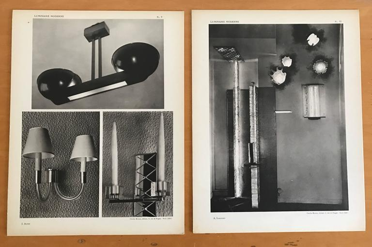 1937 Luminaire Moderne French Lighting Catalogue / Art Deco 8