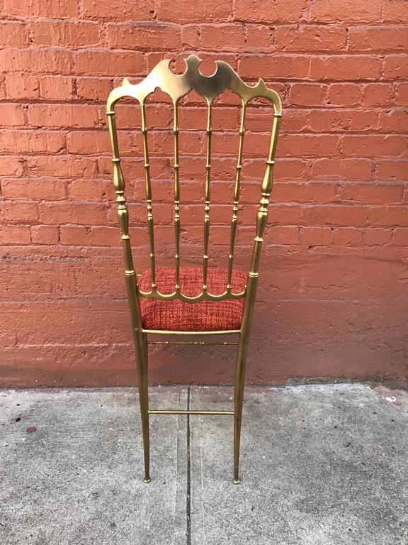1950s Italian Brass Chiavari Chair 5