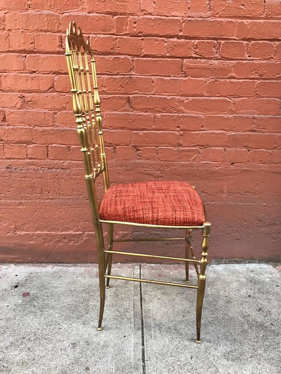 1950s Italian Brass Chiavari Chair 6