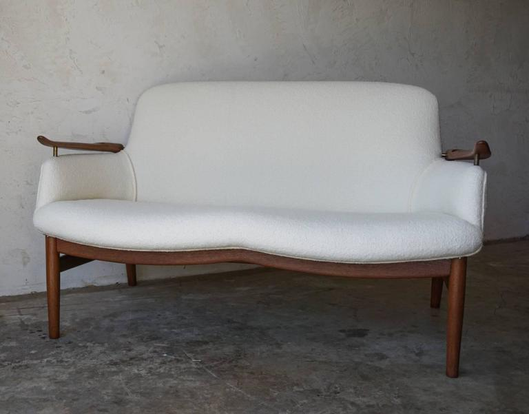 Finn Juhl NV53 Sofa For Niels Vodder, 1950s 2