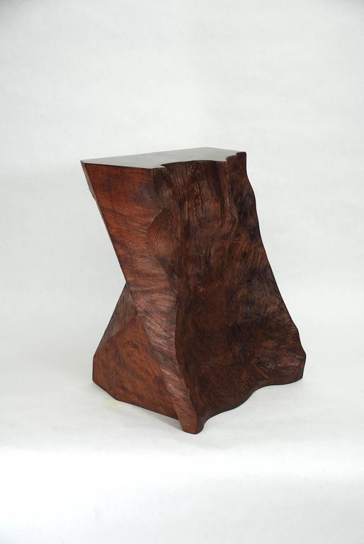 Rick Yoshimoto Asymmetrical Redwood Stool 3