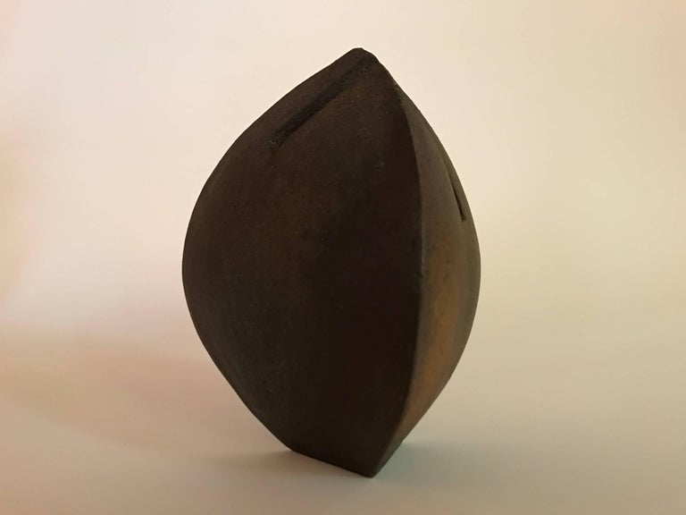 Malcolm Wright Abstract Wood-Fired Clay Sculpture 2