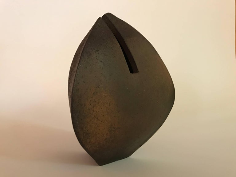 Malcolm Wright Abstract Wood-Fired Clay Sculpture 3