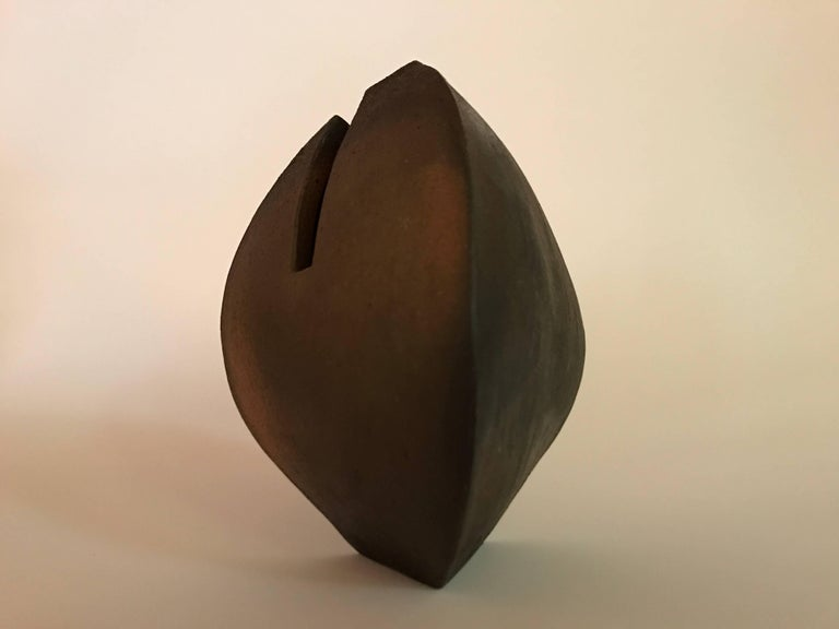Malcolm Wright Abstract Wood-Fired Clay Sculpture 4