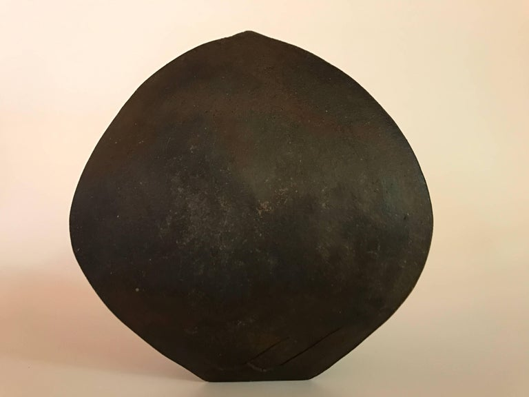 Malcolm Wright Abstract Wood-Fired Clay Sculpture 5